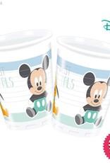 Procos *DISC* Infant Mickey - Plastic Cups 200Ml