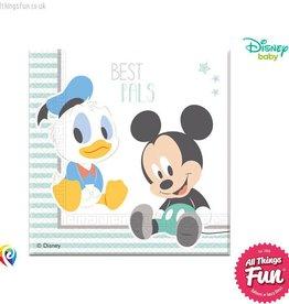 Procos Infant Mickey - Party Napkins 20Ct