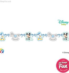 Procos *DISC* Infant Mickey - Silhouette Die-Cut Banner