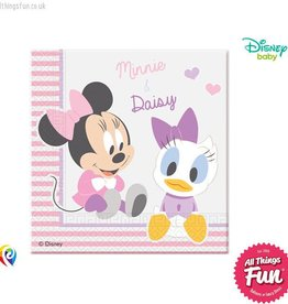 Procos *DISC* Infant Minnie - Party Napkins 20Ct
