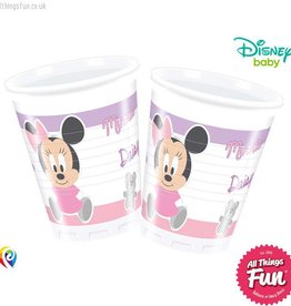 Procos *DISC* Infant Minnie - Plastic Cups 200Ml