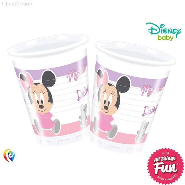 Procos *DISC* Infant Minnie - Plastic Cups 200Ml
