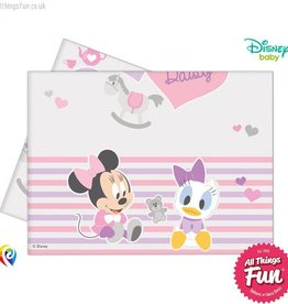 Procos *DISC* Infant Minnie - Party Table Cover 1Ct
