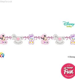Procos *DISC* Infant Minnie - Silhouette Die-Cut Banner