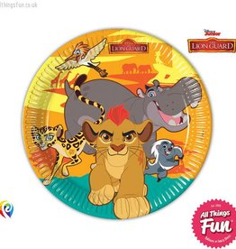 Procos The Lion Guard - Paper Plates (23cm) 8ct