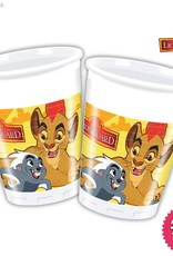 Procos The Lion Guard - Plastic Cups 200Ml