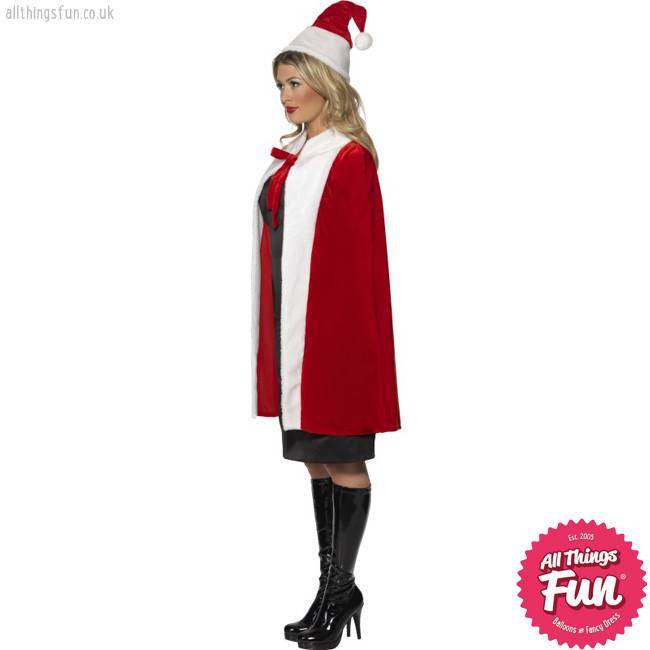Smiffys Deluxe Red Cape
