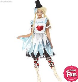 Smiffys *DISC* Alice in Blunderland Costume