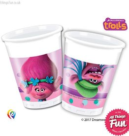 Procos Trolls - Party Plastic Cups 8Ct