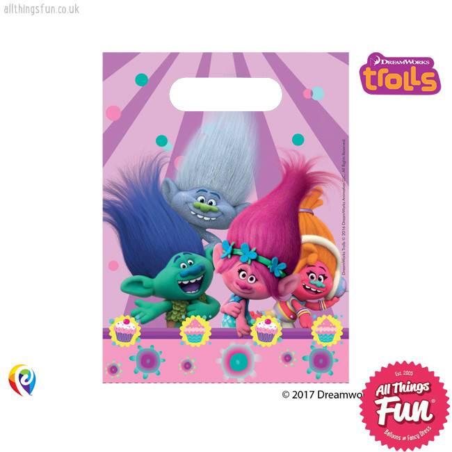 Procos Trolls - Party Bags 6Ct