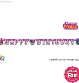 Procos Trolls - Banner 1Ct - Happy Birthday