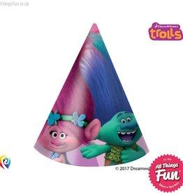 Procos Trolls - Hats Party 6Ct