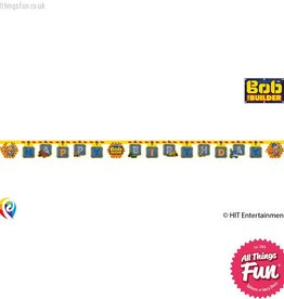 Procos Bob The Builder - Banner 1Ct - Happy Birthday