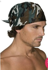 Smiffys *DISC* Camouflage Bandanna