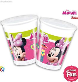 Procos Disney Minnie Mouse - Party Plastic Cups 8Ct
