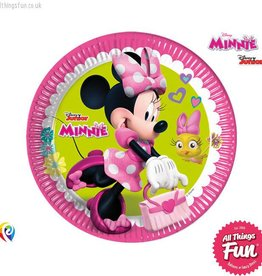 Procos Disney Minnie Mouse - Party Paper Plates (23cm) 8Ct