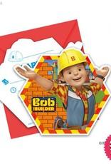 Procos Bob The Builder - Invitations & Envelopes 6Ct