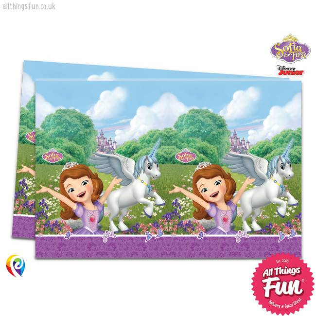 Procos Sofia The First - Party Table Cover 1Ct