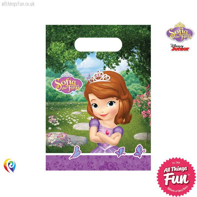 Procos Sofia The First - Party Bags 6Ct