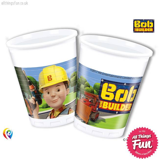 Procos Bob The Builder - Party Plastic Cups 8Ct