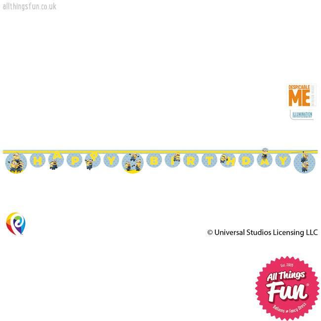 Procos Lovely Minions - Banner 1ct - Happy Birthday