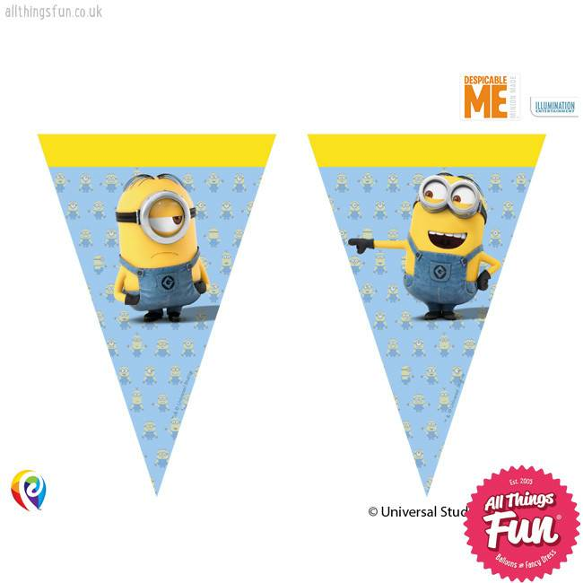 Procos Lovely Minions - Banner - Triangle Flags (9)