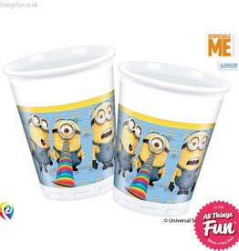 Procos Lovely Minions - Party Plastic Cups 8ct