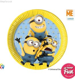 Procos Lovely Minions - Party Paper Plates (23cm) 8ct