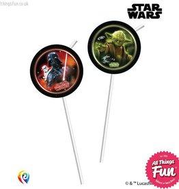 Procos *DISC* Star Wars - Drinking Straws 6Ct