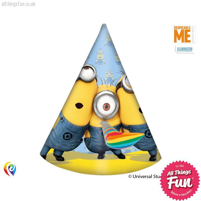 Procos Lovely Minions - Party Hats 6ct
