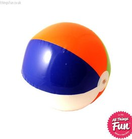Smiffys Inflatable Multi Coloured Beach Ball 40cm