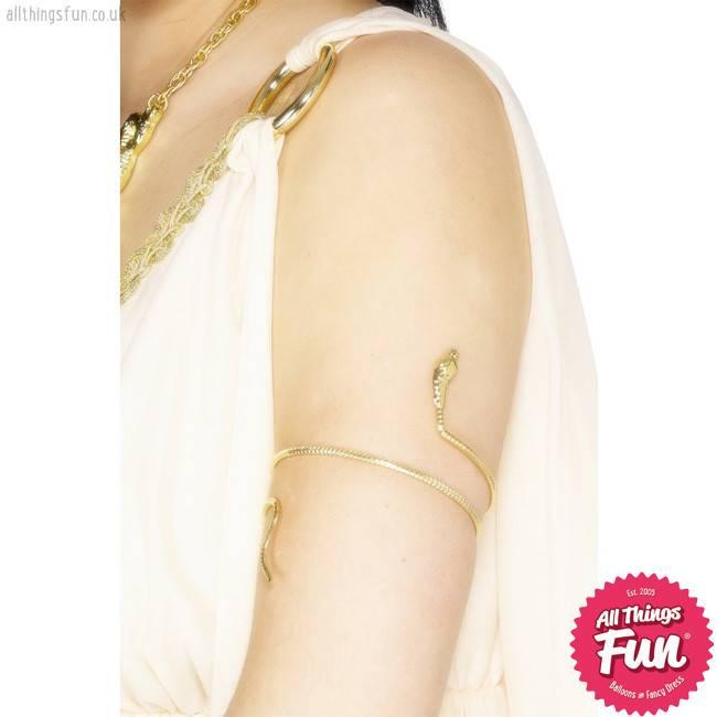 Smiffys Egyptian Gold Snake Bracelet