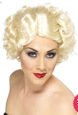 Smiffys Blonde Hollywood Icon Wig