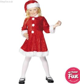 Smiffys Mini Miss Santa Costume