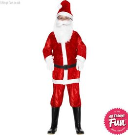 Smiffys *DISC* Mini Santa Costume
