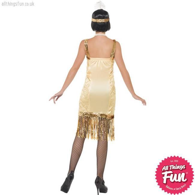 Smiffys Charleston Flapper Costume