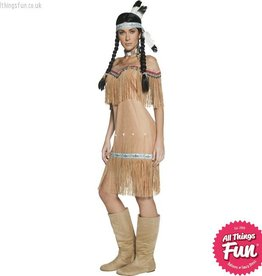 Smiffys Authentic Western Indian Lady Costume