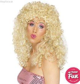 Smiffys Blonde Boogie Babe Wig