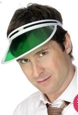 Smiffys Green Poker Visor