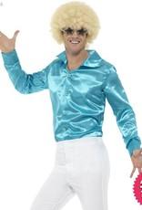 Smiffys 60's Blue Shirt