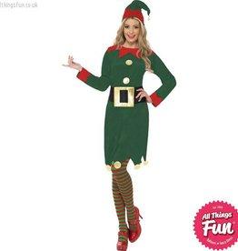 Smiffys *STAR BUY* Female Green Elf Costume