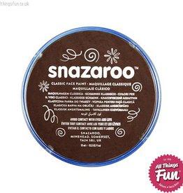 Snazaroo Snazaroo Classic Dark Brown 18ml pot