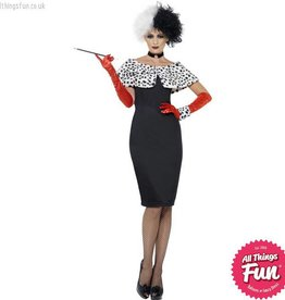 Smiffys Evil Madame Costume