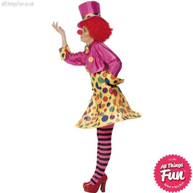 Smiffys Clown Lady Costume