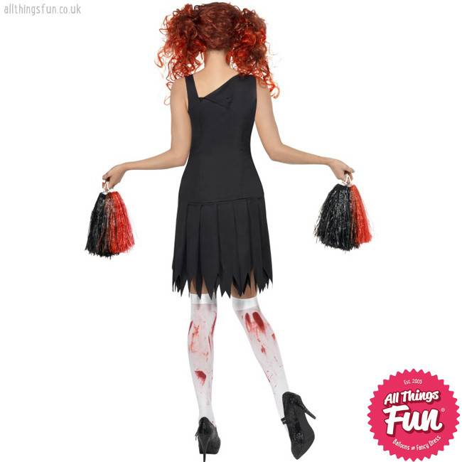 Smiffys High School Horror Cheerleader Costume