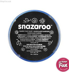 Snazaroo Snazaroo Classic Black 18ml pot
