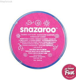 Snazaroo Snazaroo Classic Bright Pink 18ml pot