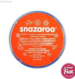 Snazaroo Snazaroo Classic Dark Orange 18ml pot
