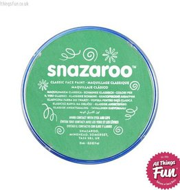 Snazaroo Snazaroo Classic Bright Green 18ml pot