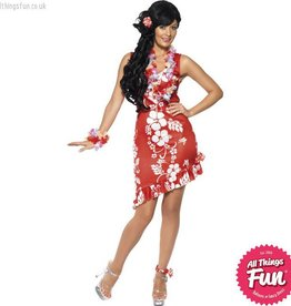 Smiffys Hawaiian Beauty Costume Medium